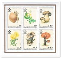 Opper-Volta 1984, Postfris MNH, Flowers, Mushrooms - Opper-Volta (1958-1984)