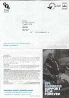 British FILM INSTITUTE  Secured Mail Delivered Royal Mail C9 10017 Advert Lettersheet Cover Gb Movie Cinema Stamps - Cinema