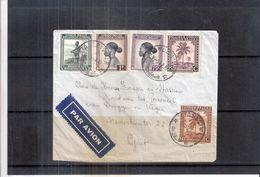 Congo Belge - Lettre De 1942 De Stanleyville Vers Gent (à Voir) - Congo Belge