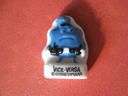 Fève Vice-versa Personnage Bleu Série Disney / Pixar  Super U Année 2016  Fèves / Rare ( T 4 ) - Disney