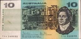 AUSTRALIE 10 Dollars 1983 P45d VF- - Emissions Gouvernementales Décimales 1966-...