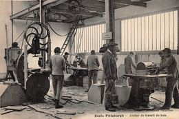 Ecole Pittsburgh - Atelier De Travail Du Bois - Francia