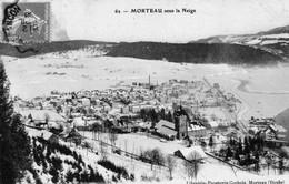 7 CPA De MORTEAU (Doubs) - 4 Ont Circulées. 7 Scan. - Altri Comuni