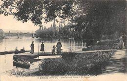 CHATOU - Bords De La Seine - La Digue - Chatou