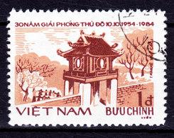 Vietnam 1984 Mi. 1492       1 D Befreiung Von Hanoi Tempelgebäude - Vietnam