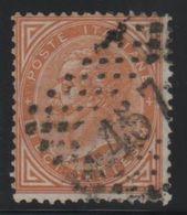 1863 De La Rue 10 C. US - 1861-78 Vittorio Emanuele II