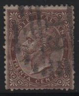 1863 De La Rue 30 C. US - 1861-78 Vittorio Emanuele II