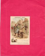 CHROMO  CHOCOLAT  LOUIT BORDEAUX -  LE VINAIGRE - Histoire Anecdotique De L'alimentation   - BORD1512 - - Louit