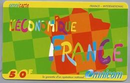 FR.- Omnicom. Télécarte France . Carte Prépayée . L'Économique France - Frankrijk