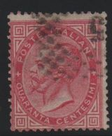 1863 De La Rue 40 C. US - 1861-78 Vittorio Emanuele II