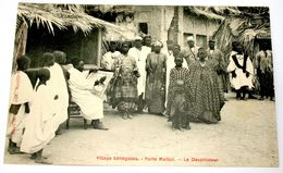 Village Sénégalais - Porte Maillot - Le Dessinateur - Sénégal