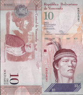 Venezuela 2011 - 10 Bolivares - Pick 90 UNC - Venezuela