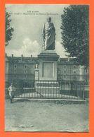 """CPA 05 Gap """" Monument Du Baron Ladoucette """" Tampon Hopital Auxiliaire Socité Française De Secours Aux Bléssés - LJCP 58 - Gap"""