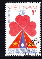 Vietnam 1983 Mi. 1307      5 D Gipfelkonferenz Von Vietnam, Laos Und Kambodscha - Vietnam