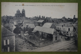 St Aubin-du-Cormier - Vue Générale, Prise Du Bureau De Poste - France