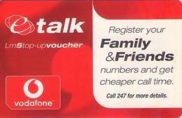 TARJETA TELEFONICA DE MALTA. (PREPAGO) (104) - Malta