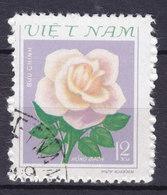 Vietnam 1980 Mi. 1175      12 Xu Flower Blume Rose - Vietnam