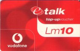 TARJETA TELEFONICA DE MALTA. (PREPAGO) (105) - Malta