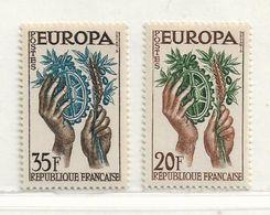 FRANCE   ( FR - 2660 )   1957  N° YVERT ET TELLIER  N° 1122/1123  N** - Unused Stamps