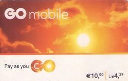 TARJETA TELEFONICA DE MALTA. (PREPAGO) (106) - Malta