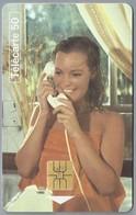FR.- Télécarte France . TELEPHONE ET CINEMA. ROMY SCHNEIDER Dans LA PISCINE 1969 Un Film De Jacques Deray - France