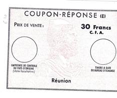 Coupon-réponse Réunion Modèle E - 30 Francs CFA - Lettres & Documents