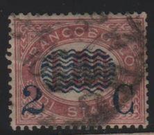 1878 Francobolli Servizio Di Stato 2 Su 1,00 US - 1861-78 Vittorio Emanuele II