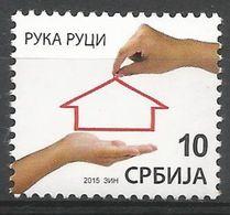 SRB 2015-ZZ71 REFUGE AID, SERBIA, 1 X 1v, MNH - Serbien