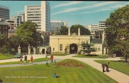ANGLETERRE--NOTTINGHAM---the Castle Gate--voir 2 Scans - Nottingham
