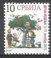 SRB 2015-ZZ74 CHIDREN WEEK, SERBIA, 1 X 1v, MNH - Serbien