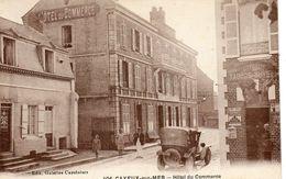 CPA - CAYEUX-sur-MER (80) - Aspect Du Quartier De L'Hôtel Du Commerce Et Du Bar Tabac à La Civette - Années 20 - Cayeux Sur Mer