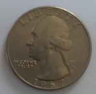 QUARTER  DOLLAR - 1967 - Washington - - Federal Issues