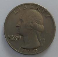 QUARTER  DOLLAR - 1970 - Washington - - 1932-1998: Washington