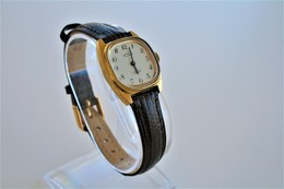 Watches : HOGA LADIES 17JEWELS INCABLOC AUTOMATIC - 1960-70's  - Original - Swiss Made - Running - Excelent Condition - Watches: Modern