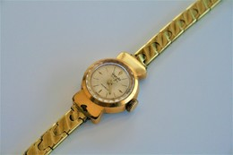 Watches : GIGANDET GENEVE LADIES AUTOMATIC Incabloc - Original - Swiss Made - Gold Plated - Running - Excelent Condition - Watches: Modern