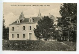 Saint Jory De Chalais Château De La Grange - Other Municipalities