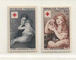 FRANCE   ( FR - 2680 )   1954  N° YVERT ET TELLIER  N°  1006/1007   N* - France