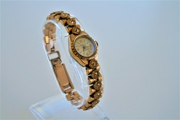Watches : SARTIS ANCRE 15 RUBIS LADIES AUTOMATIC - Original - Swiss Made - Gold Plated - Running - Excelent Condition - Watches: Modern