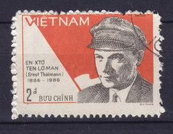 Vietnam 1986 Mi. 1680     2 D Ernst Thälmann Deutscher Politiker - Vietnam