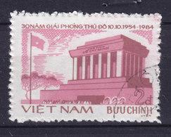Vietnam 1984 Mi. 1493       1 D Befreiung Von Hanoi Ho Chi Minh Mausoleum - Vietnam