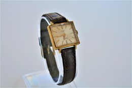 Watches : TEMPOS AUTOMATIC INCABLOC - 17 Jewels - Original - 20 Microns Gold - Swiss Made - Running - Excelent Condition - Watches: Modern