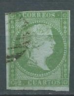Espagne  - Yvert N° 34 Oblitéré - Po56231 - 1850-68 Royaume: Isabelle II
