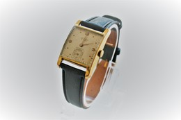 Watches : DELBANA MEN AUTOMATIC  - 15 Jewels - Original -GOLD PLATED ? - Swiss Made - Running - Excelent Condition - Watches: Modern