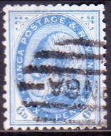 TONGA 1888 SG 3a 6d Used Perf.12x11½ - Tonga (...-1970)