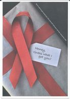 Health - Postcard - Against AIDS - Miha Kosmac,Academy Of Fine Arts And Design,Slovenia - Santé