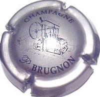 Brugnon P. N°11, Argent & Noir - Champagne