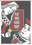 Health - Postcard - Against AIDS - Matthew Fink,Kutztown University Of Pennsylvania,USA.condom,Play Cards - Santé
