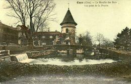 CPA - COYE (60) - Aspect Du Moulin Des Bois Et Du Déversoir En 1908 - Frankrijk