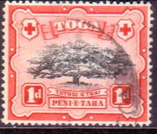 TONGA 1942 SG 75 1d Used Wmk Mult.Script CA - Tonga (...-1970)
