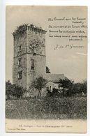 Tour De Chavagnac Avec Poème - France